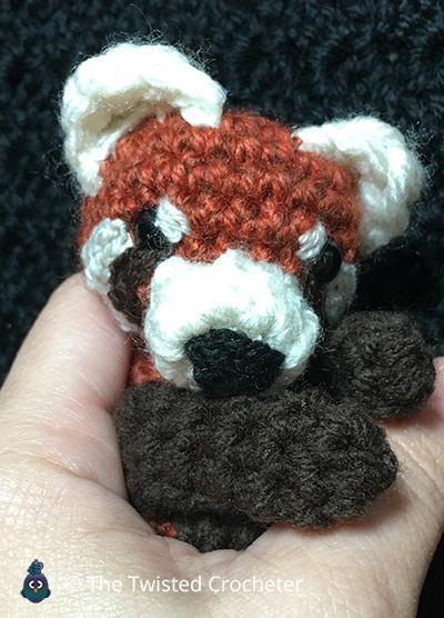 $33.68 #crochetPANDA bear, amigurumi tiny panda, white black small ... | 556x400